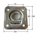 Toggle-fastener-hook
